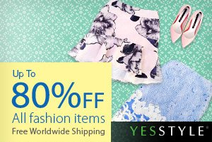YESSTYLE - Up to 80% off