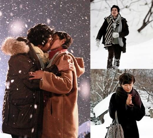 Oh Yeon-soo, Kiss Scene In The Snow With 10-year-younger