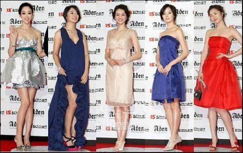 Jeong Ryeo-won , Yoon Eun-hye , Ko Ah-ra , Han Hyo-joo , Lee Yeon-hee