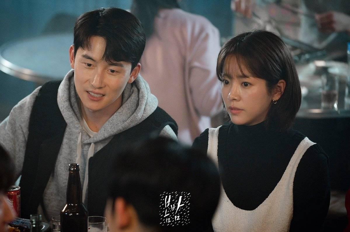 "Photos] New Stills Added for the Korean Drama ""One Spring Night"" @  HanCinema :: The Korean Movie and Drama Database"