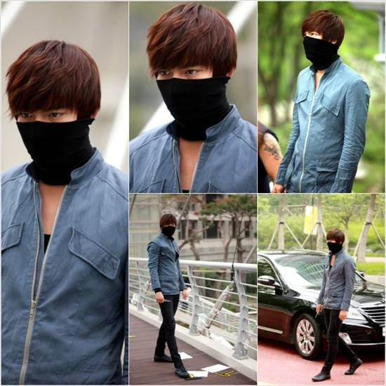 City Hunter Lee Min Ho Disguised With Bandana In Heat
