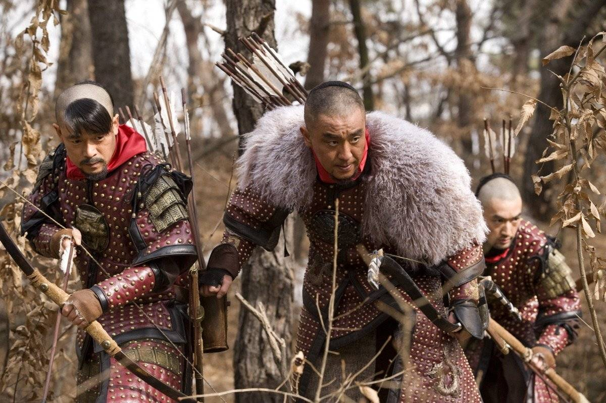 "Added new stills and video for the Korean movie ""Arrow ..."