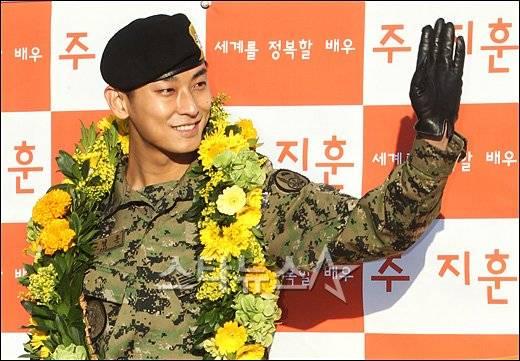 Actor Joo Ji-hoon, discharged on November 21st @ HanCinema