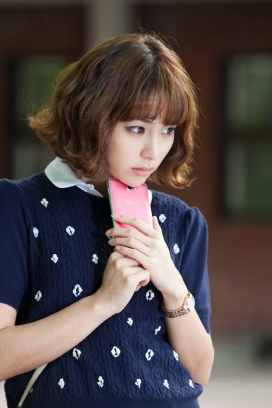 """National Goddess"" Lee Min-jeong's short cut hair ..."
