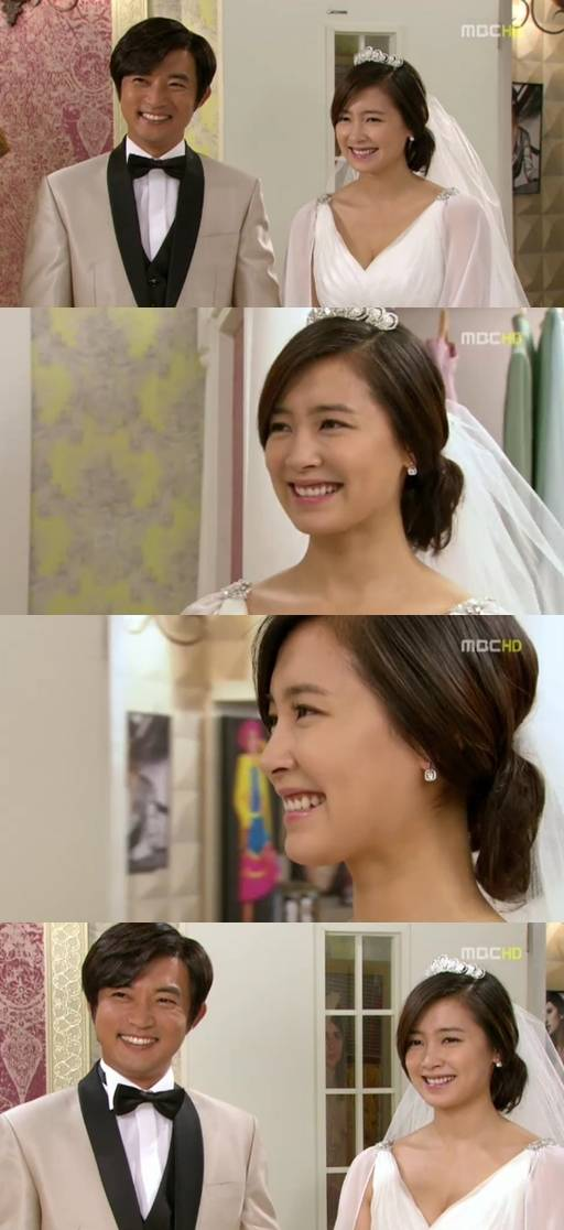 Nam Sang mi And Lee Sang Yoon Nam Sang-mi in Pure White