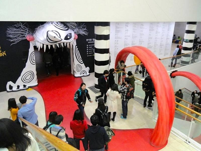 Hancinema S Korea Diaries Tim Burton Exhibition The