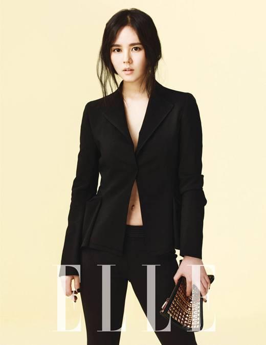 Han Ga-in in a single jacket on bare skin @ HanCinema ...