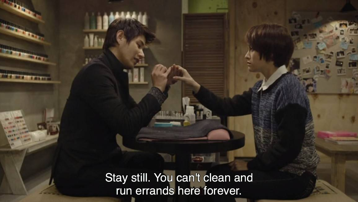 Added episode 3 for the Korean drama ' Nail Shop Paris '