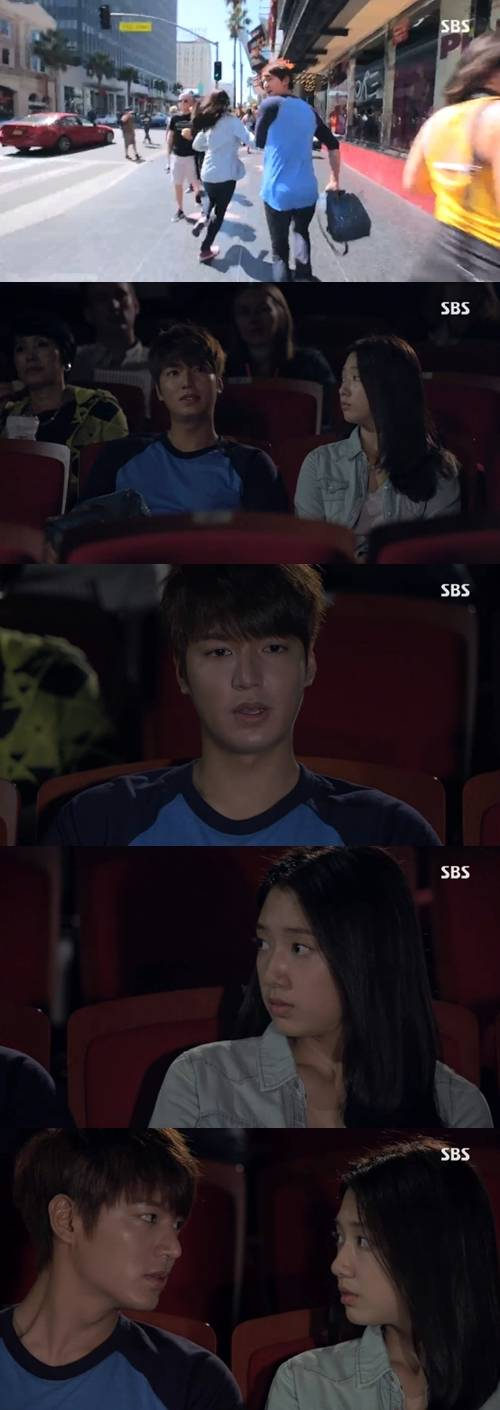 """Spoiler] """"The Heirs"""" Lee Min-ho confesses to Park Shin-hye"""