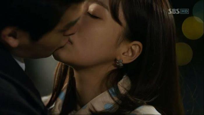 peck kiss in korean