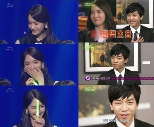 Lee seung gi admit dating yoona