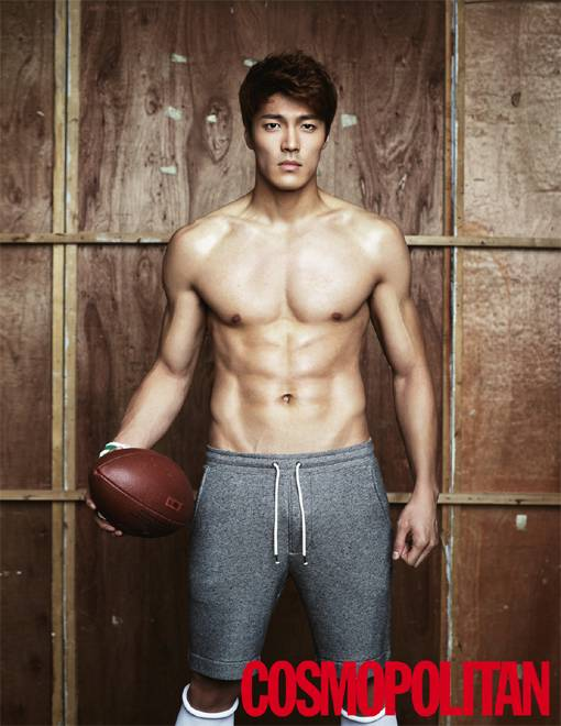 Ha Seok Jin & Lee Jae Yoon: Cosmo Men August, 2014   Lee