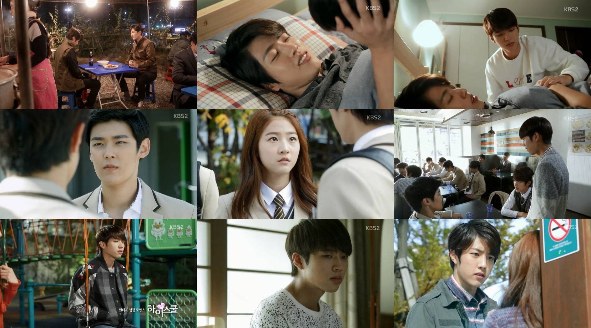 "[HanCinema's Drama Review] ""High School - Love On"" Episode ..."