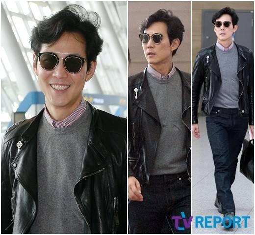 Lee Jeong Jae S Swoon Worthy Effortless Airport Style