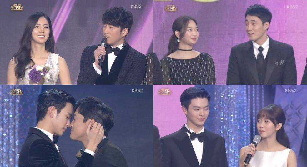 Korean drama best couple award 2011 / Shining hearts episode