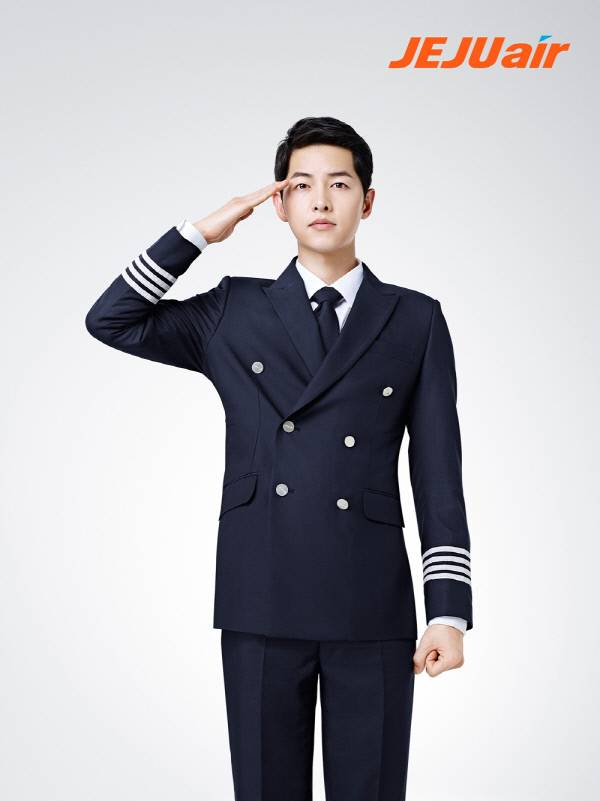 Song joong Ki Jeju Air