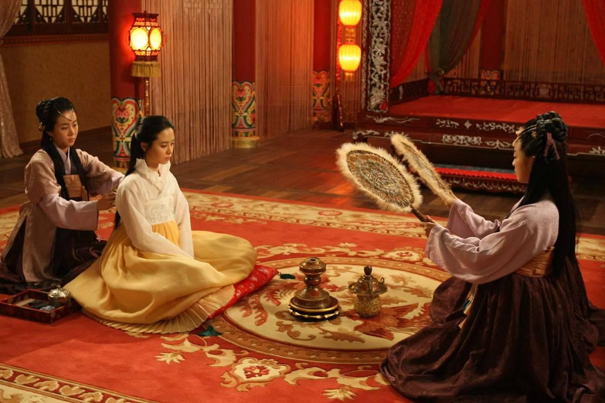A Frozen Flower Korean Movie 2008 쌍화점 HanCinema The Korean Movie a