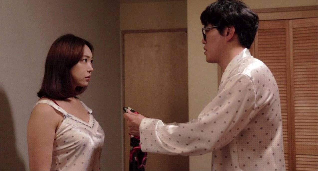 With Korean wife swap sex