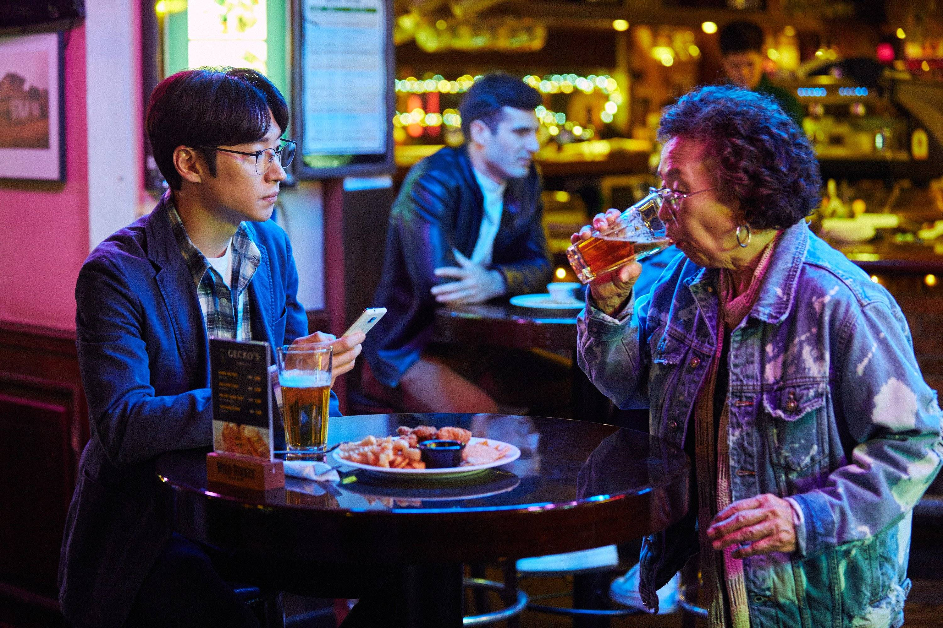 Photos New Na Moon Hee And Lee Je Hoon Stills Added For Korean Movie I Can Speak Hancinema The Korean Movie And Drama Database