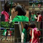 Kim Hyang-ki and Kang Chan-hee's kissing scene (2013/06/09)
