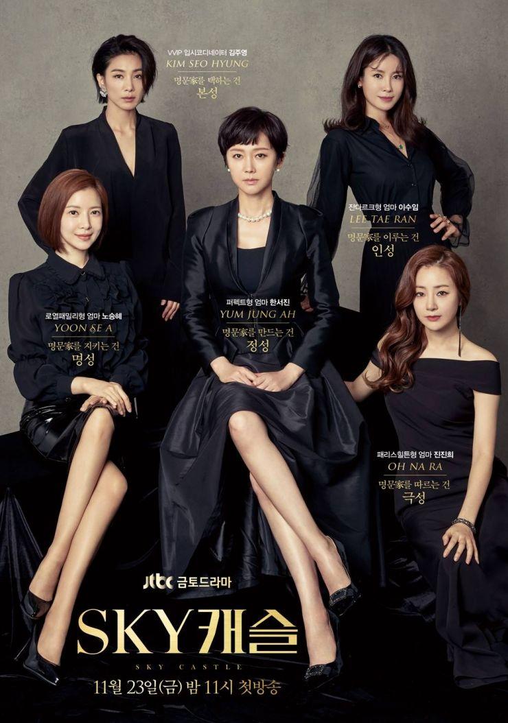 Sky Castle Korean Drama 2018 Sky Hancinema The