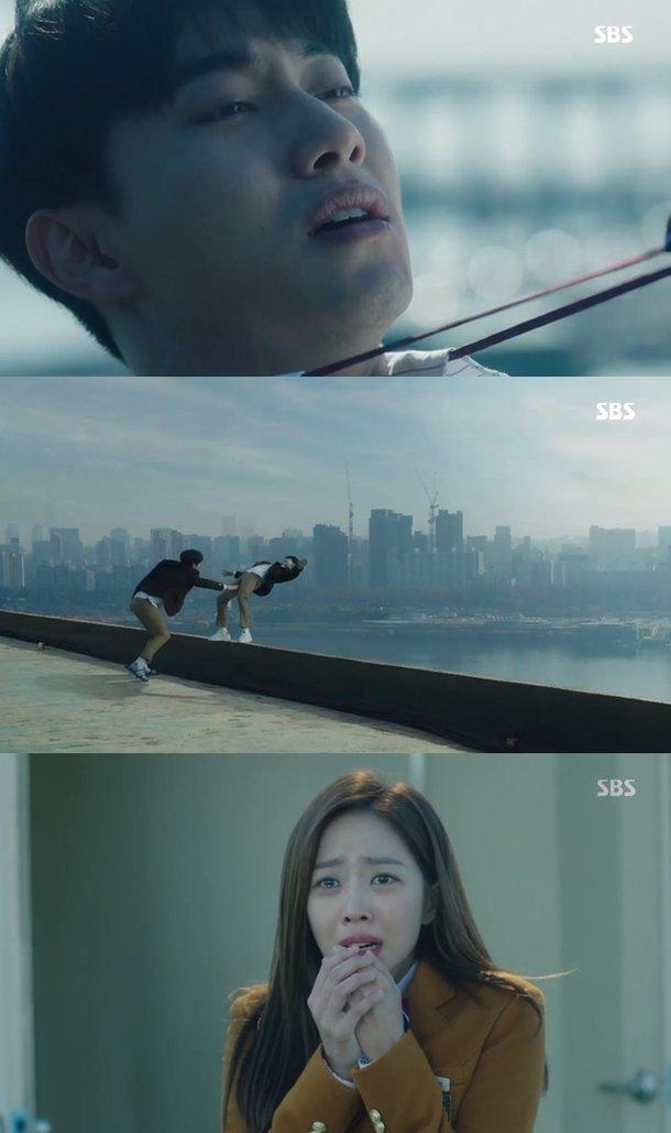 Spoiler My Strange Hero Yoo Seung Ho Witnesses Kwak Dong Yeons