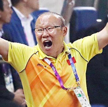 Vietnam Names Korean Football Coach Park Hang-seo 'Person of the