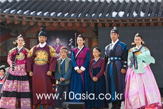 "Cast of MBC TV series "" Dong Yi "" [Chae Ki-won/10Asia]"