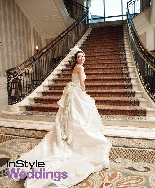 Wedding Korean Star: [ChanMi's Star News] Han Hye-jin, In A Pure White Wedding