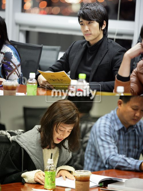 First encounter of Song Seung-heon and Kim Tae-hee from ...