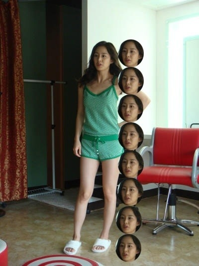 Kim Tae Hee Confirms 8 Foot Bodyline In Slippers Proportion Is More