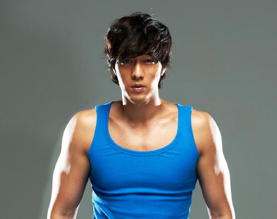 So Ji Sub Looking Good In Blue Sleeveless Hancinema