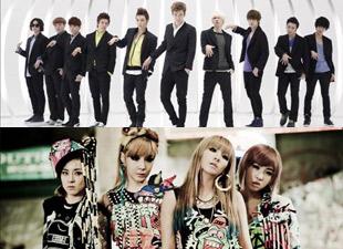 Super Junior & 2NE1 Land On Billboard World Album Chart