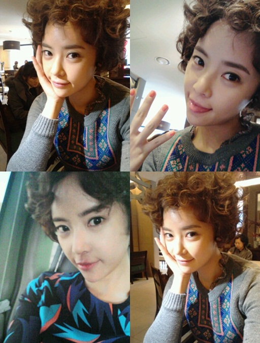"Hwang Jung-eum, Beethoven hairstyle for ""Full House 2 ..."