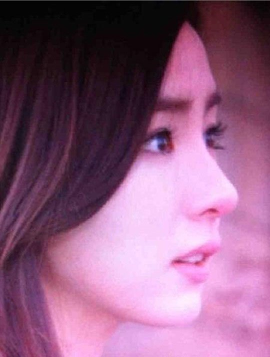 Shin Se-kyung's profile - round forehead and a pointy nose @ HanCinema :: The Korean Movie and