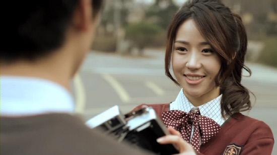 Dal Shabet's Jiyul cast for short film
