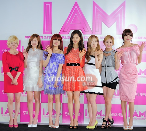 "The showcase of SM Entertainment's documentary film ""I AM."" featuring"