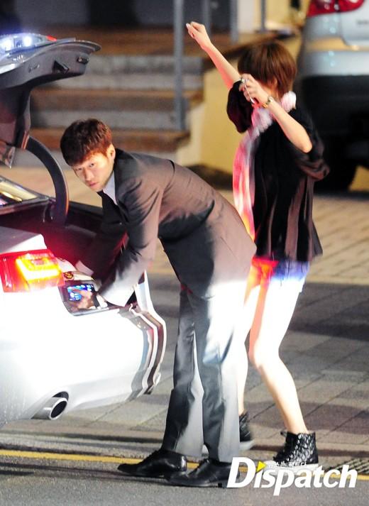 Kim Seon Ah Has Dinner With Park Ji Sung Hancinema