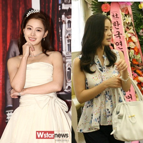 Kim Tae Hee S Wedding Fashion Hancinema The Korean Movie And