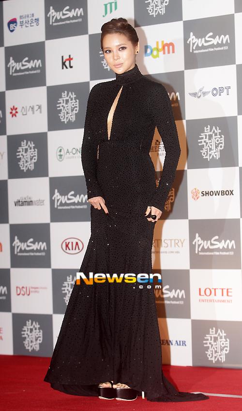 Busan 17.Film Festivalinde Ünlü Geçidi /// 6 Ekim 2012