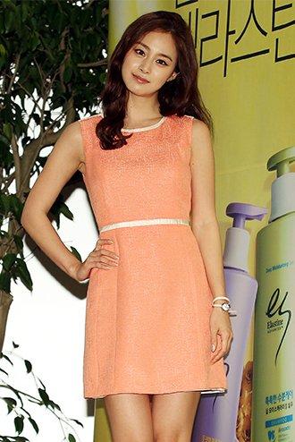 Company for using hallyu actress kim tae hee as a model