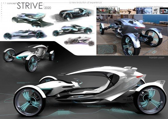 Korean Students Create their Own Futuristic Cars @ HanCinema :: The Korean Movie and ...