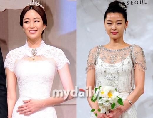 Kim Hyo Jin The Best Looking In A Wedding Dress Hancinema