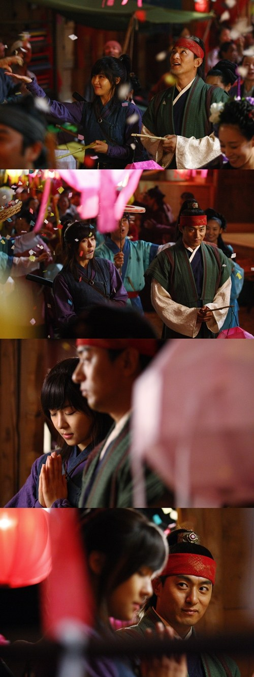 Ha Ji Won And Joo Jin Mo S Date Under The Lamp Post