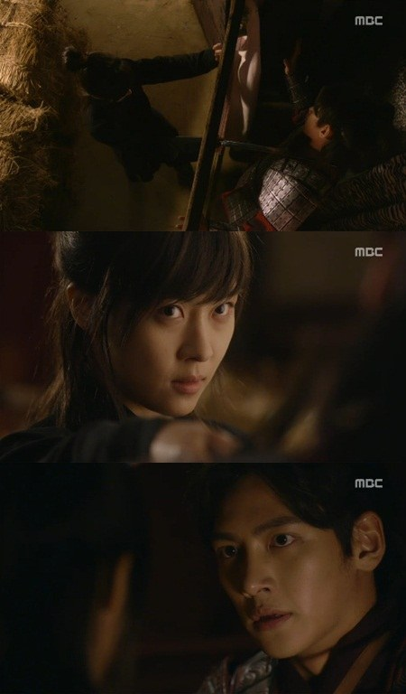 Yoo jiwon and han na to her - 1 part 5