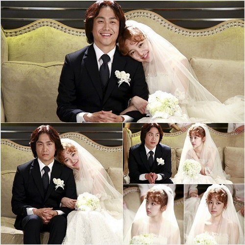 Yoon Eun Hye In A Wedding Dress Hancinema The Korean