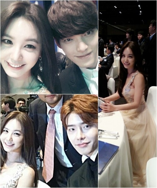 Kang Ye-bin takes pictures with Kim Woo-bin and Lee Jong-suk