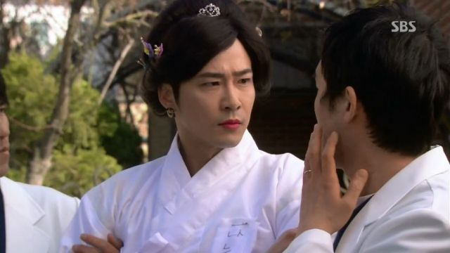 Cha-don as The Empress of Joseon