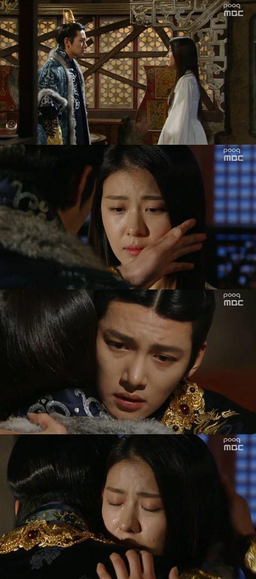 """Spoiler] """"Empress Qi"""" Ji Chang-wook embraces Ha Ji-won @ HanCinema ..."""