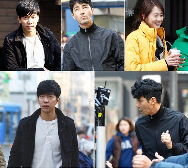"""Cha Seung-won, Lee Seung-gi and Go Ara in """"You're ..."""